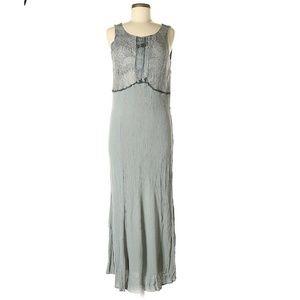 Spencer Alexis Dress 8 Sleeveless Maxi Embellished